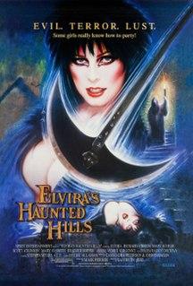 <i>Elviras Haunted Hills</i> 2001 film directed by Sam Irvin