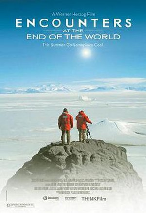 Encounters at the End of the World - Theatrical release poster