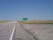 US 20 enters Nebraska