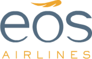 Eos Airlines - Image: Eos Airlines logo