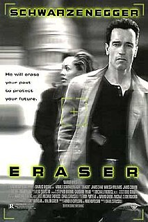 <i>Eraser</i> (film) 1996 action film by Chuck Russell