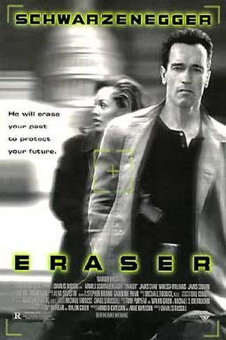 Eraser (film) - Theatrical release poster