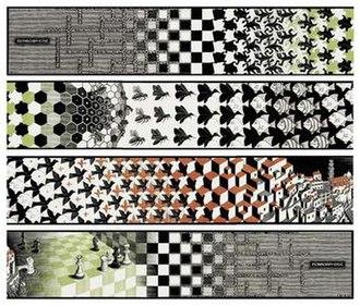 Metamorphosis II - Image: Escher, Metamorphosis II