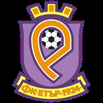 FC Etar 1924 Veliko Tarnovo - Etar crest used from 2002 to 2012