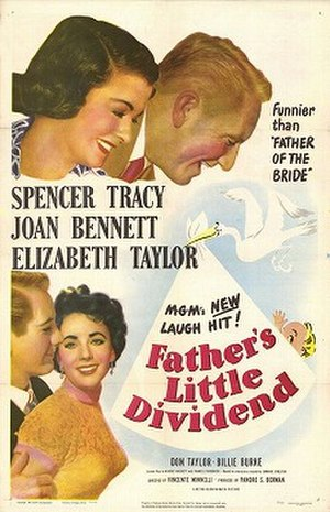 Father's Little Dividend - Theatrical poster