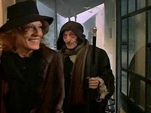 Frankenstein's Aunt - Viveca Lindfors as Hannah Frankenstein and Jacques Herlin as Igor