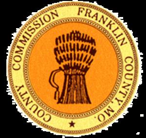 Franklin County, Missouri - Image: Franklin County, Missouri seal