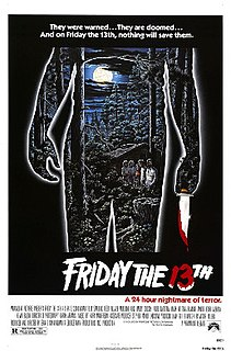 <i>Friday the 13th</i> (1980 film) 1980 film directed by Sean S. Cunningham