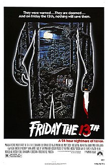 <i>Friday the 13th</i> (1980 film) 1980 American slasher film directed by Sean S. Cunningham