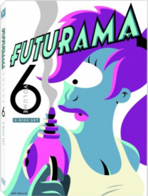 Futurama (season 6) - Image: Futurama Volume 6