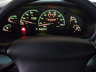 Ford Ranger EV - Instrument panel