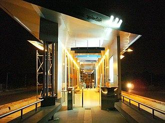 Ahmedabad Bus Rapid Transit System - Image: GMD Cstation 2