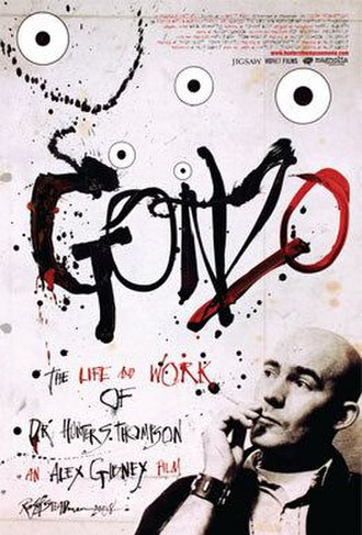 Gonzo: The Life and Work of Dr. Hunter S. Thompson - Theatrical release poster