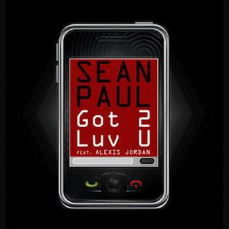 Sean Paul featuring Alexis Jordan — Got 2 Luv U (studio acapella)