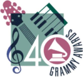 40th Annual Grammy Awards - Image: Grammylogo 40