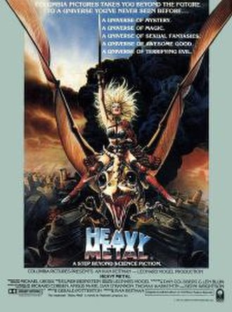 Heavy Metal (film) - Theatrical release poster