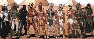 Heliopolitans - Image: Heliopolitans Marvel Comics
