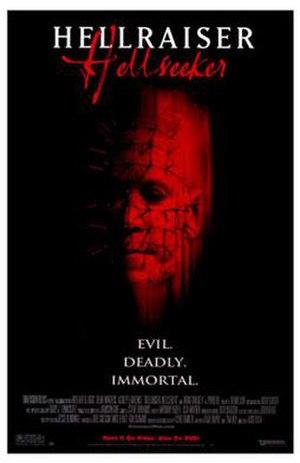 Hellraiser: Hellseeker - Home video poster