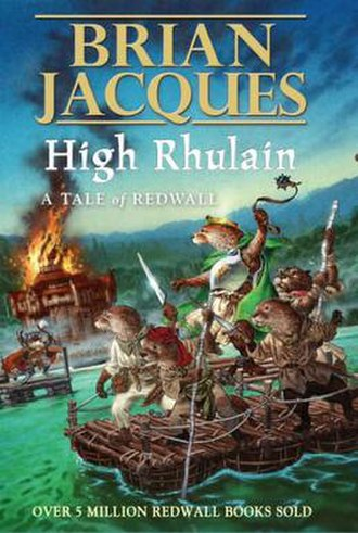 High Rhulain - UK first edition cover