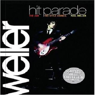 Hit Parade (Paul Weller album) - Image: Hit Parade (Paul Weller album cover art)