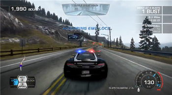 Hot Pursuit allows players to control police v...
