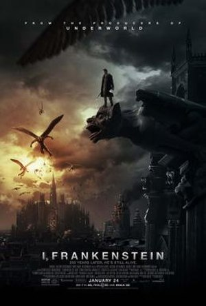 I, Frankenstein - Theatrical release poster