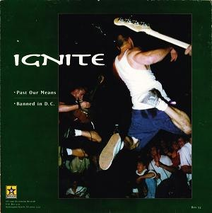 Ignite / Good Riddance - Image: Ignite Good Riddance cover (side A)