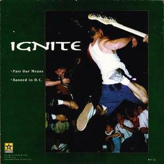 Ignite / Good Riddance - Image: Ignite Good Riddance cover (side A)