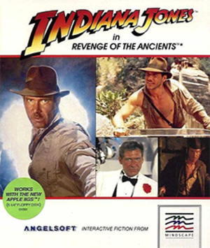 Indiana Jones in Revenge of the Ancients - Image: Indiana Jones in Revenge of the Ancients Coverart