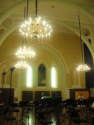Robert Samut Hall - Interior of the hall