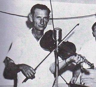 J. B. Fuselier Cajun musician