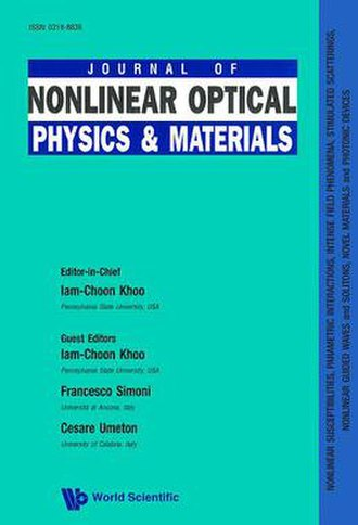 Journal of Nonlinear Optical Physics & Materials - Image: JNOP Mcover