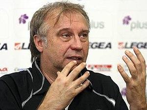 Josip Kuže - Kuže at a news conference in 2010