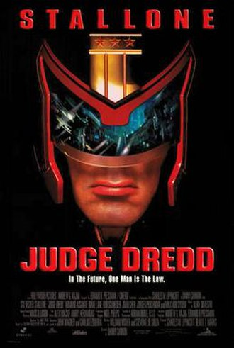 Judge Dredd (film) - Theatrical release poster