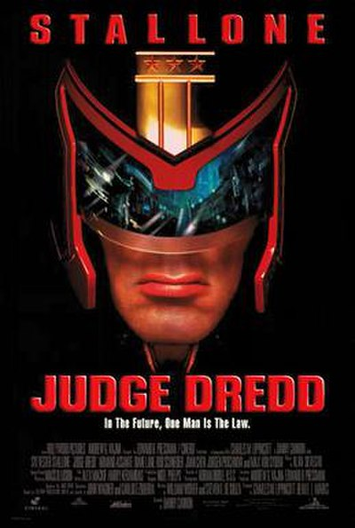 Picture of a movie: Judge Dredd