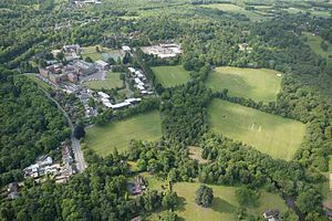 King Edward's School, Witley - Aerial view of King Edward's School