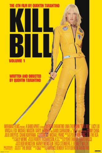 Kill Bill: Volume 1 - Theatrical release poster