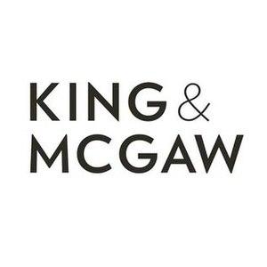 King and McGaw - Image: King and Mc Gaw company logo 2015