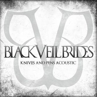 Knives and Pens - Image: Knives and Pens (acoustic) (Black Veil Brides album cover art)