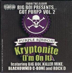 Kryptonite (I'm on It) - Image: Kryptonite (I'm on It)