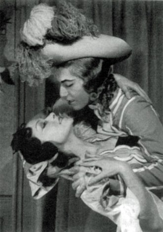 Les Animaux modèles - Serge Lifar and Yvette Chauviré in the original 1942 production