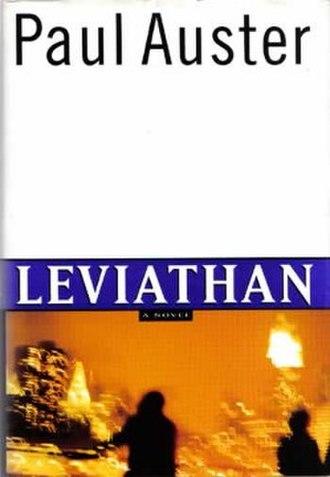 Leviathan (Auster novel) - Image: Leviathan Novel