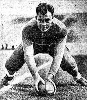 "Lloyd Roberts (American football) - Roberts c. 1929 ""Preacher"""