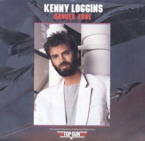Danger Zone (song) - Image: Loggins Danger Zone single cover
