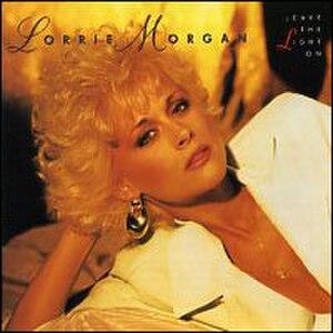 Leave the Light On (Lorrie Morgan album) - Image: Lorrie Morgan Leavethe Light On