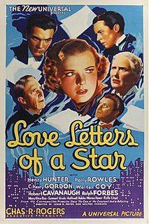 <i>Love Letters of a Star</i> 1936 film directed by Lewis R. Foster