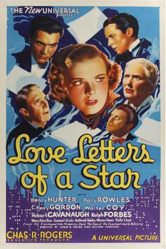 Love Letters of a Star - Theatrical release poster