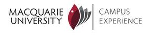 Macquarie University Campus Experience - Image: Macquarie University campus experience logo