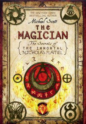 The Magician: The Secrets of the Immortal Nicholas Flamel - First Edition USA cover of The Magician: The Secrets of the Immortal Nicholas Flamel