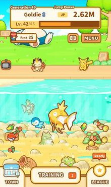 5b994be9 Pokémon: Magikarp Jump - Wikipedia